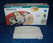 Hub ethernet 4 ports 3Com OfficeConnect