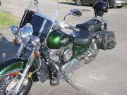 Green Kawasaki 1998-Vulcan Classic