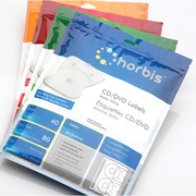 $11.99 - 80 CD/DVD Labels for Inkjet & Laser Printer - Horbis