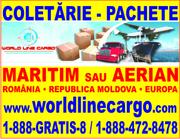 WORLD LINE CARGO coletarie Canada - Romania (maritim sau aerian)