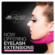 eyelash extensions/eyelash perm