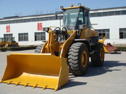 Wheel loader 936 with quick hitch