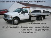 Junk car Removal la Féraille /Scrap (514 )836-0593.(514)776-7555.