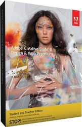 Adobe Creative Suite 6 Design & Web Premium - Student & Techer Edition