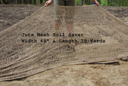 Jute Mesh Soil Saver + Geo-Jute + Burlap + Jute Twine + Jute Rope