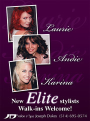Stylist: Laurie,  Andie & Karina.