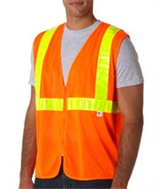 Design and Print your company's Bayside Hi Visibility Long Sleeve Pock